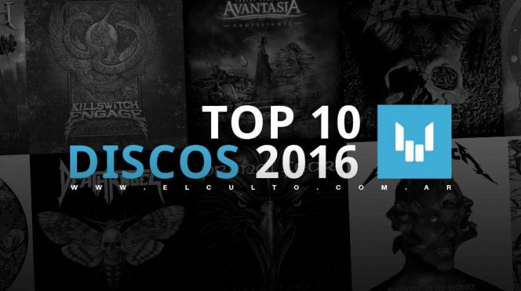 Top 10 mejores discos del 2016