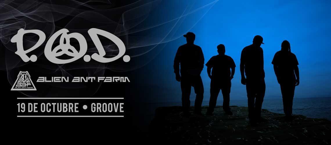 P.O.D. y Alien Ant Farm juntos en Argentina