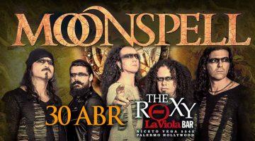 Moonspell llega a Buenos Aires