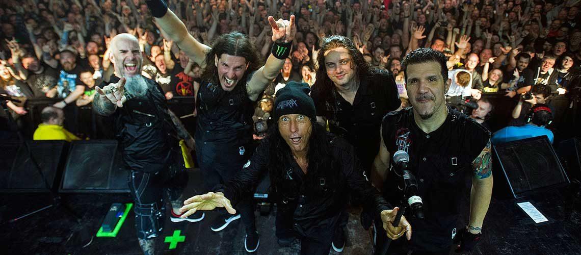 Anthrax DVD Kings Among Scotland