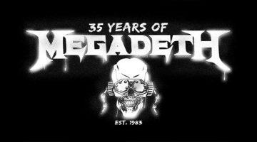 Megadeth festeja su 35 aniversario