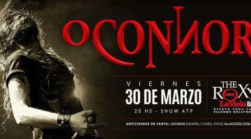 O'Connor en The Roxy Live