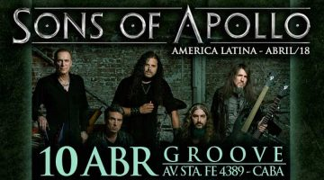 Sons of Apollo en Argentina