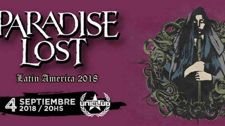 Paradise Lost en Uniclub