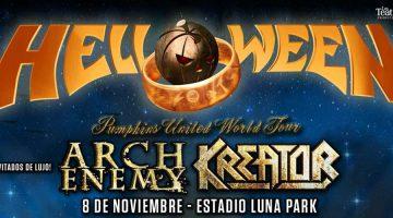 Helloween junto a Arch Enemy y Kreator en el Luna Park