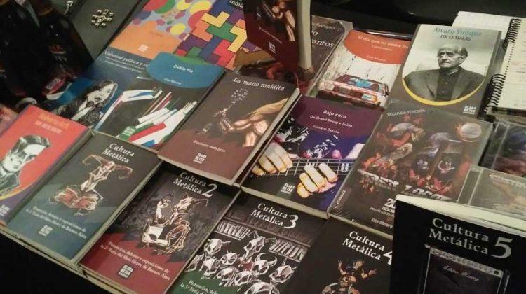 6º edición de la Feria del libro Heavy