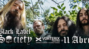 Black Label Society en el Teatro Vorterix