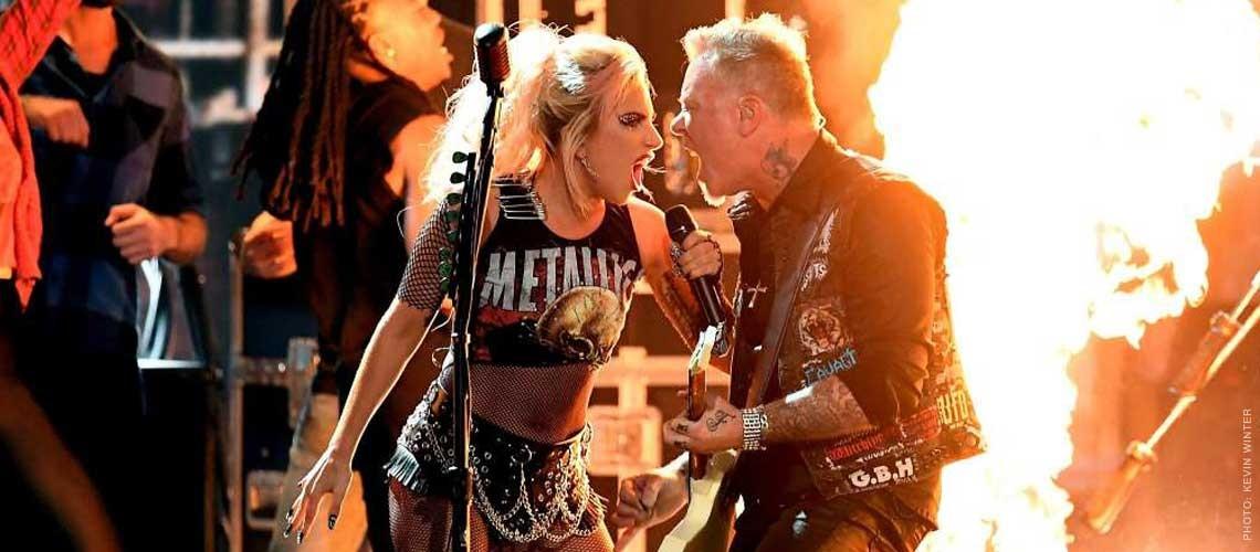 Metallica junto a Lady Gaga