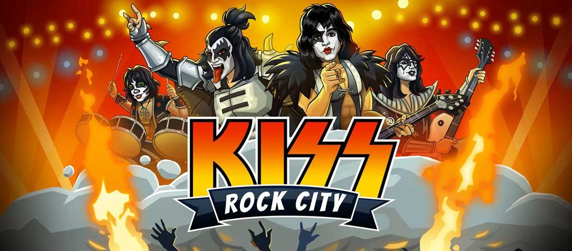 KISS Rock City juego
