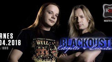 Blackoustic Timo Kotipelto y Jani Liimatainen