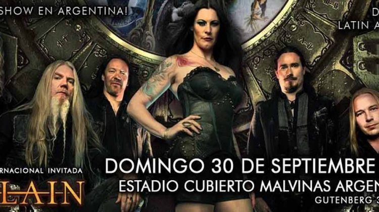 Nightwish en el Estadio Malvinas Argentinas