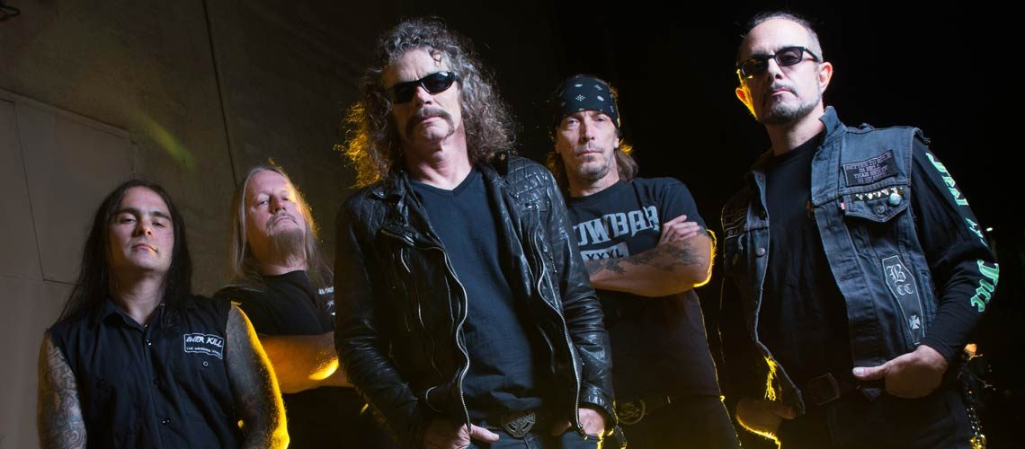 Cinco canciones indispensables de Overkill