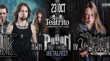 NWM Pagan Metal Fest IV con Arkona y Týr