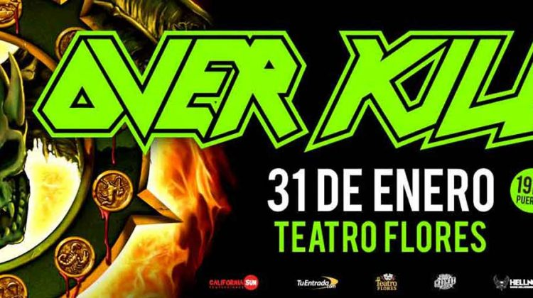 Overkill Teatro Flores