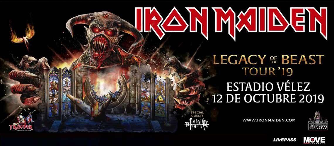 Iron Maiden Argentina 2019