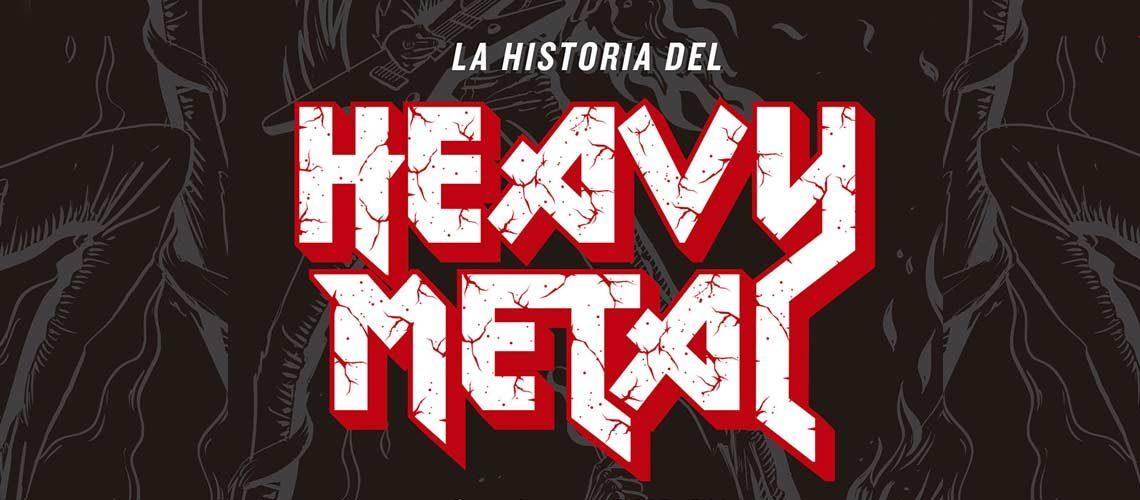 La historia del Heavy Metal de Andrew O'Neill