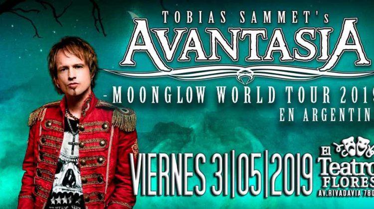 """Avantasia presenta su nuevo álbum """"Moonglow"""" en Buenos Aires"""