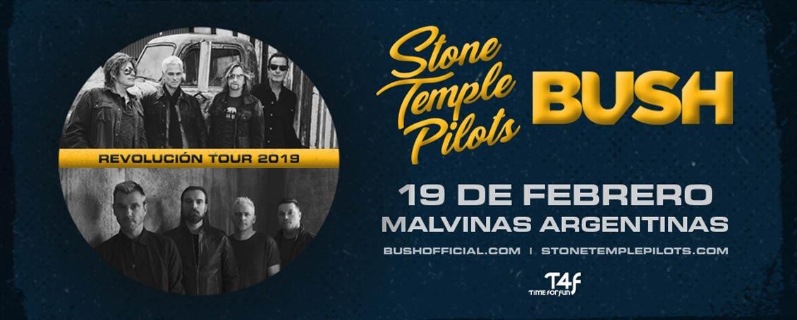 Stone Temple Pilots y Bush en Argentina