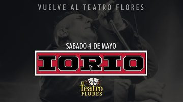 Iorio en el Teatro Flores