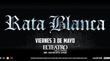 Rata Blanca vuelve a El Teatro Ópera de La Plata