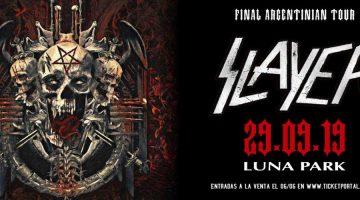 Slayer regresa a Buenos Aires en el marco de su gira despedida