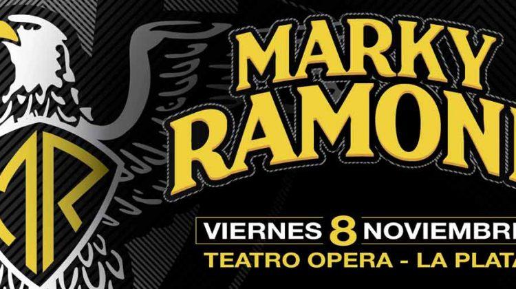 Marky Ramone en La Plata