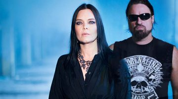 Russell Allen y Anette Olzon